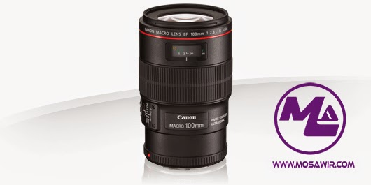 عدسة كانون: EF 100mm f/2.8L Macro IS USM