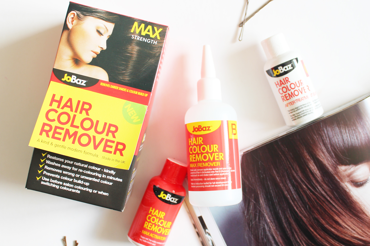 JOBAZ | Max Strength Hair Colour Remover - Review, Before + After - CassandraMyee