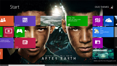 After Earth Theme For Windows 8