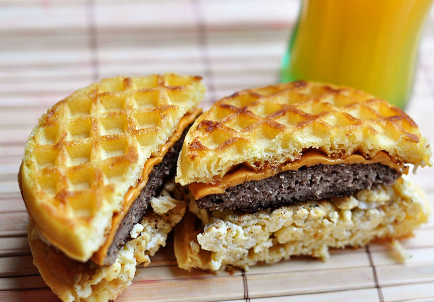 ... , this is easy and delicious. What better way to use frozen waffles