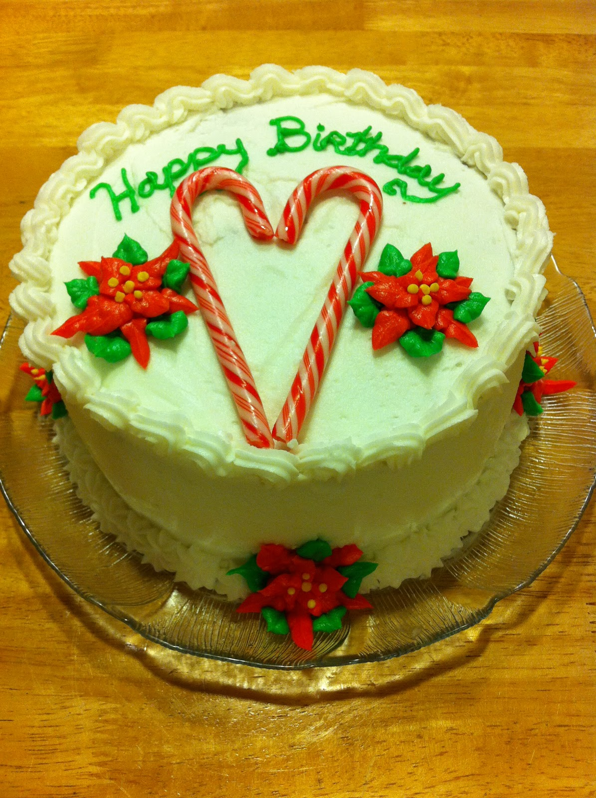 The Fairy Cake Mother: Christmas Birthday Cake