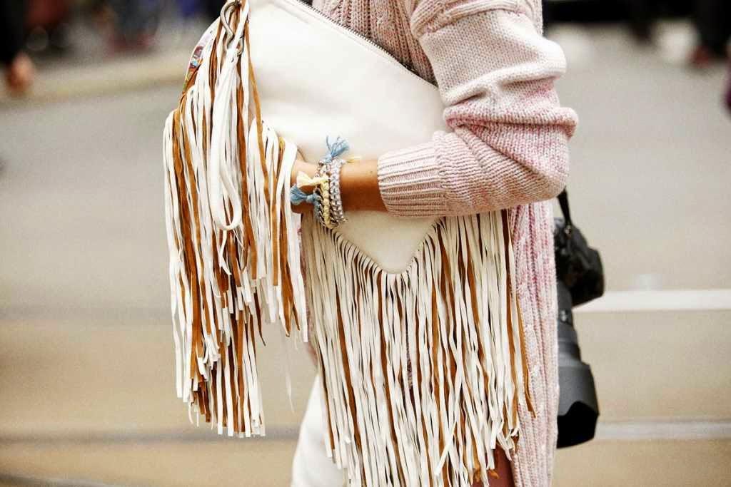 Tendencia moda flecos