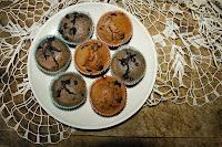 lesni muffiny ze spaldove mouky