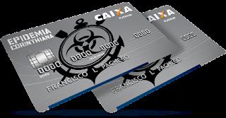 Cartão de crédito da Caixa Epidemia Corinthiana