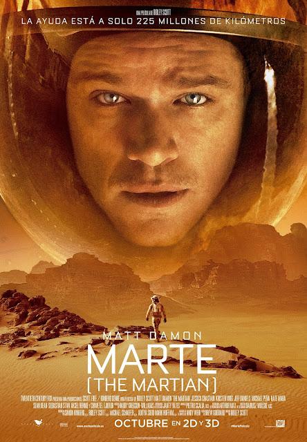 Póster definitivo y nuevo tráiler de 'Marte (The martian)', de Ridley Scott