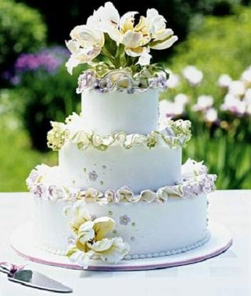 Latest Design For Cake : Fondant Cakes of 2012: Latest Wedding Cake Design of 2012