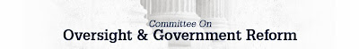 Committee on Oversight and Government Reform Logo
