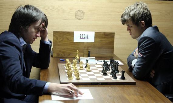 Victoire ronde 13 de Magnus Carlsen face à Teimour Radjabov