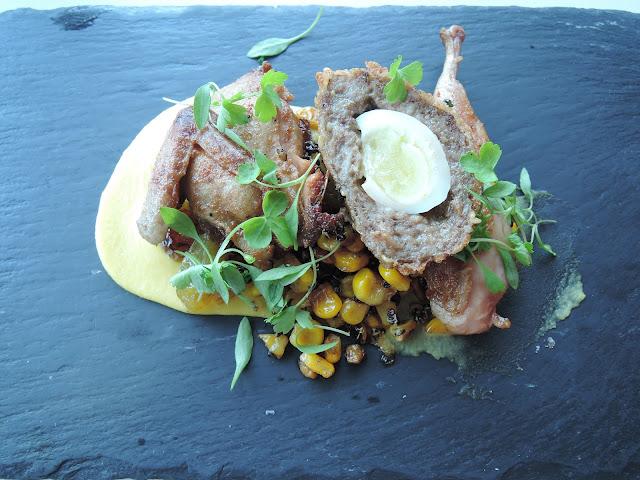 rochford, winery, yarra valley, quail, scotch egg