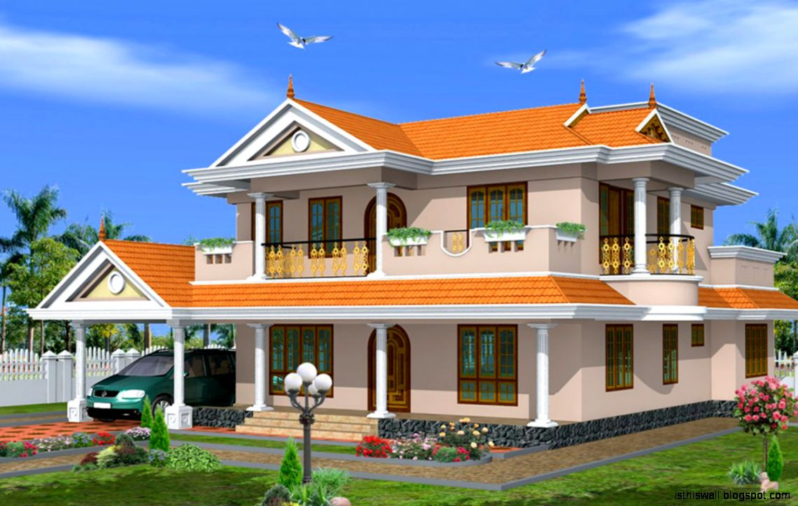 New home building designs wallpapers area for New house design