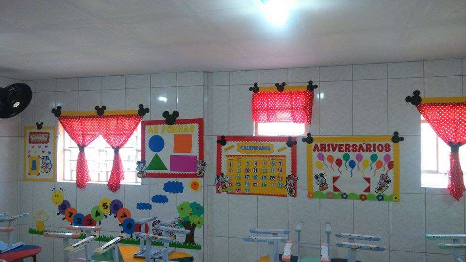 Decoraç u00e3o para Sala de Aula Mickey e Minnie Espaço do Educador Ideia Criativa Ideia Criativa