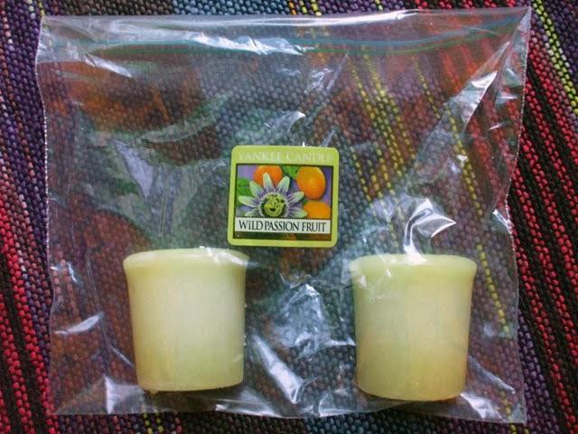 Tealights or Votives Fruit Slices scented Melts