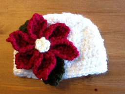 Free Crochet Patterns For Christmas Flowers : Be Different...Act Normal: Christmas Poinsettias ...