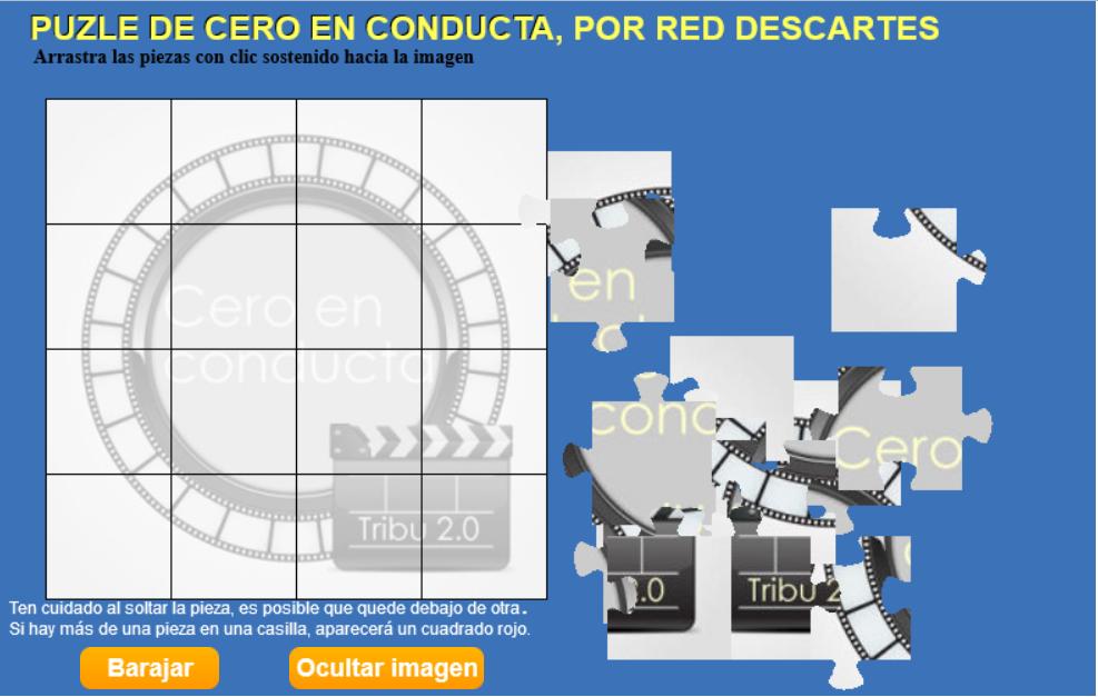 PUZZLE de Cero en conducta por la Red Descartes
