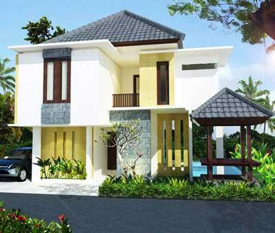 desain rumah minimalis lantai dua terbaru 2013 - desain