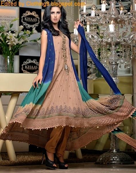 Pakistani Anarkali Design 2015-16