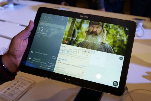 Samsung's bigger, wider Galaxy Note Pro tablet
