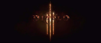 Diablo 3 logo burning