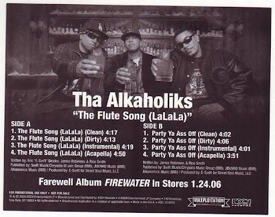 Tha Alkaholiks – The Flute Song / Party Ya Ass Off (Promo CDM) (2005) (VBR)