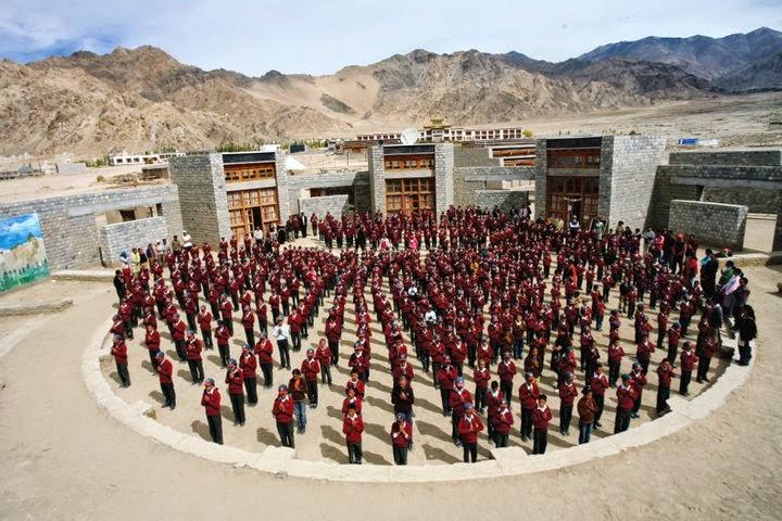 druk white lotus school, Ladakh volunteer