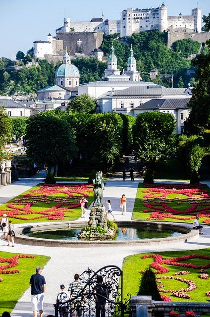 Salzburg,Austria, the place where SOUND OF MUSIC took place