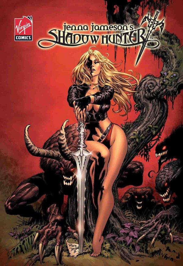 Shadow Hunter 0 Jenna Jameson  Virgin comics 2007