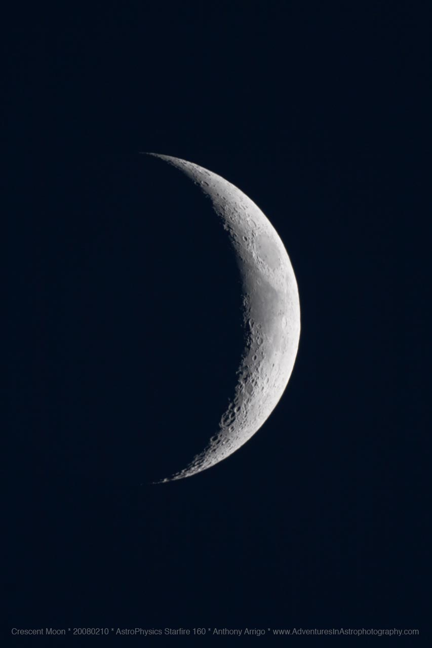 Waxing Crescent Moon Phase