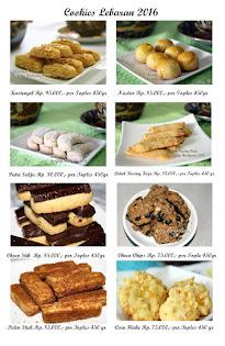 Cookies Lebaran 2016
