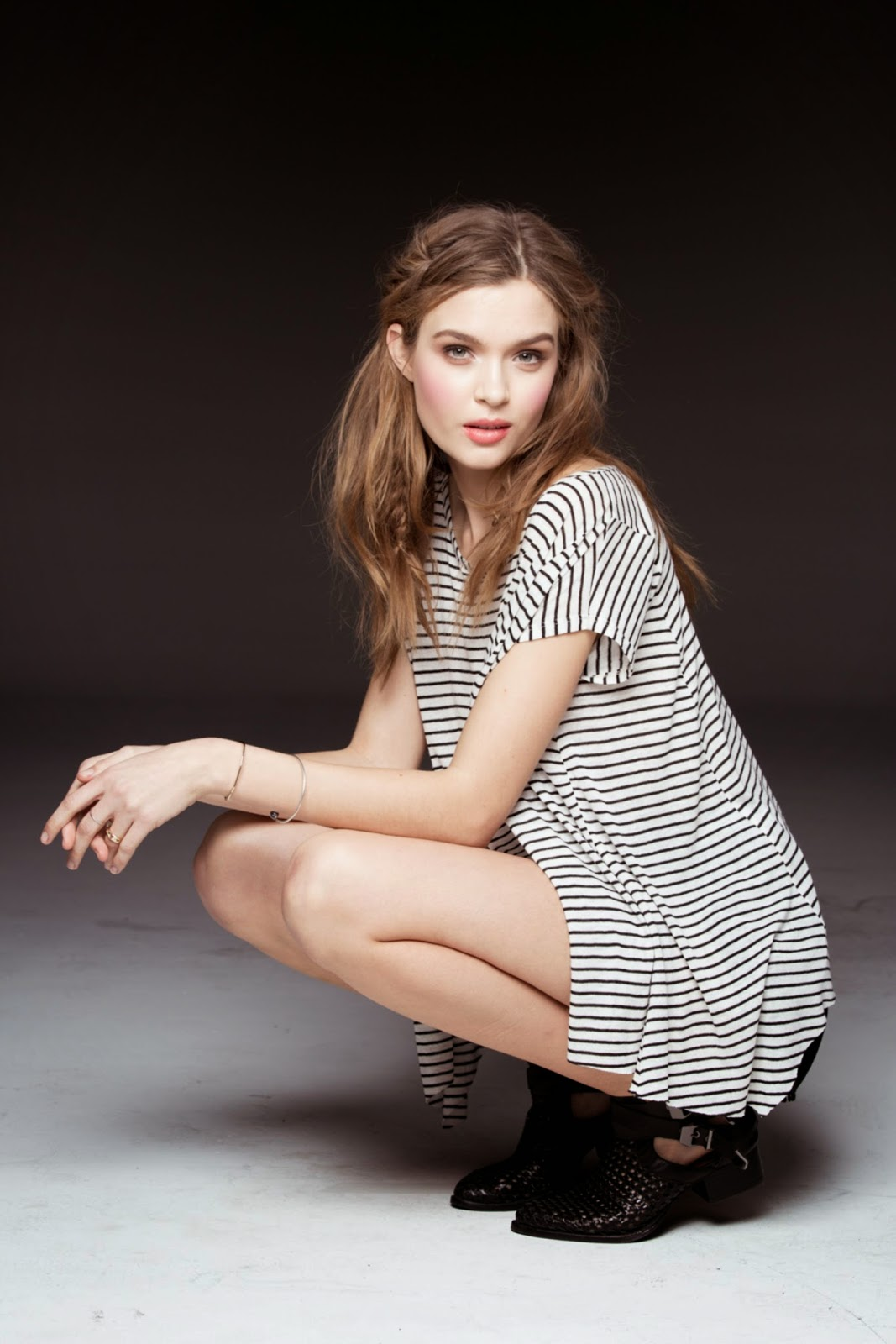 Model Photos Josephine Skriver Urban Outfitters Collection