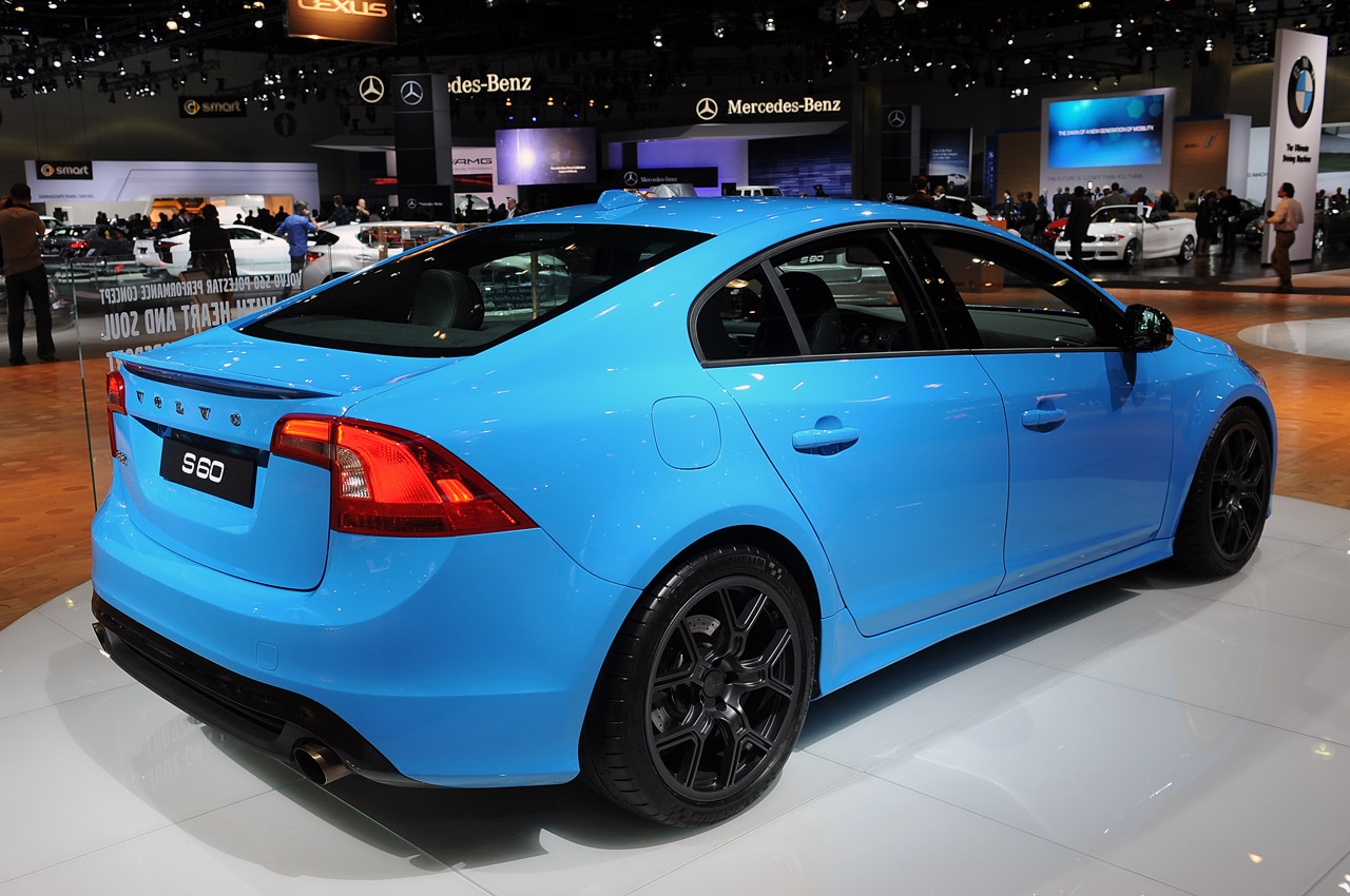 Sweet Volvo S60 Polestar Concept Is A Rocket And A Reality