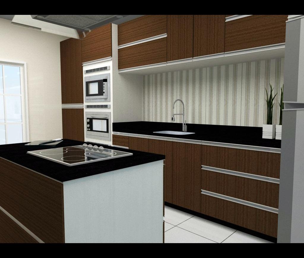 Cozinha Pequena Sob Medida Beyato Com V Rios Desenhos Sobre