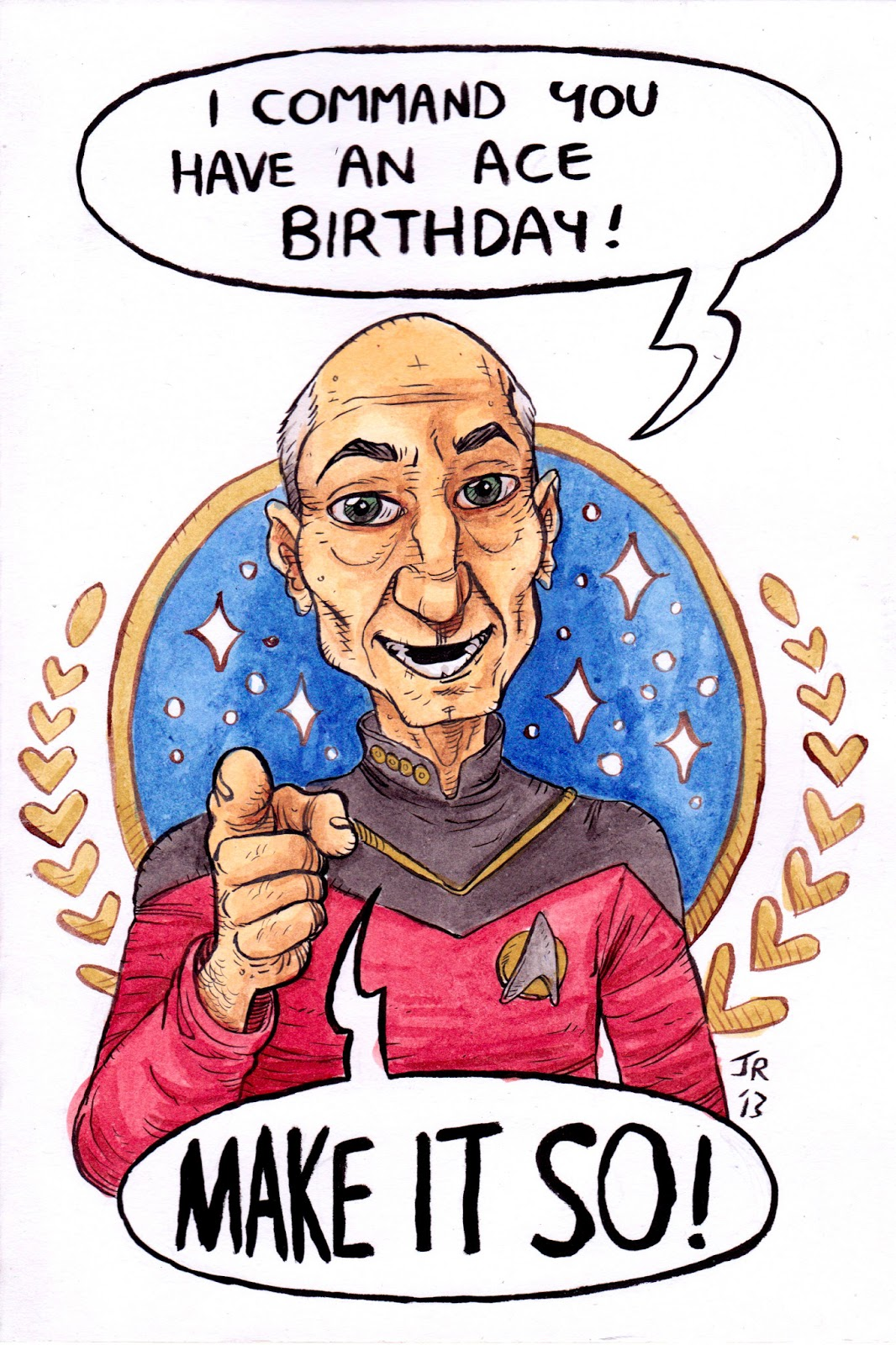 The scribblings of a staffordshire maniac birthday cards star trek next gen card bookmarktalkfo Image collections