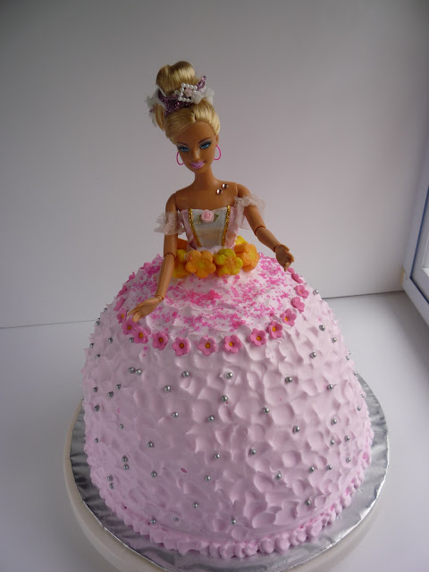 Doll Cake With Whipped Cream Whipping Cream The Cake