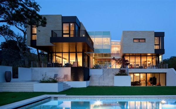 Beautiful best modern houses 59 modern houses for Big modern house designs