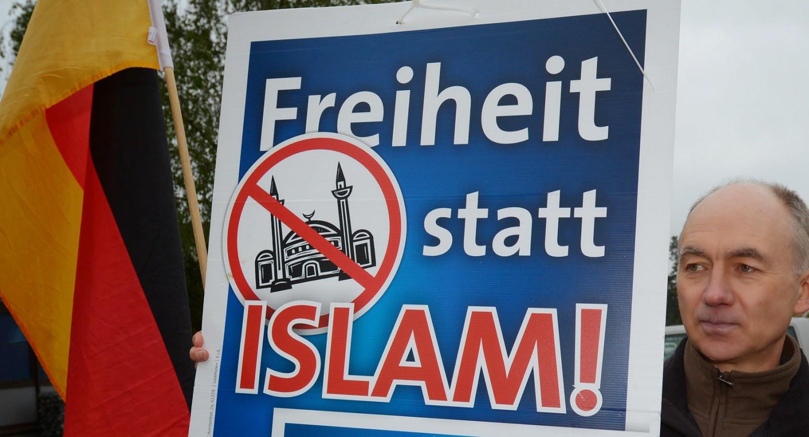 ألمانيًا من كل ثمانية ألمان ضد الاسلام