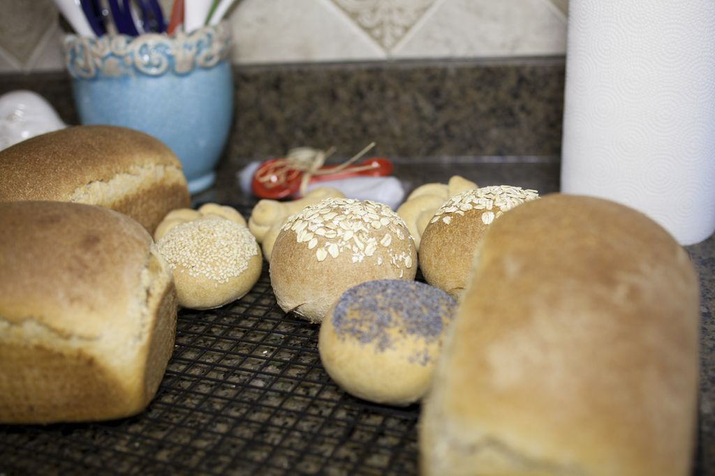 how to make wheat into bread