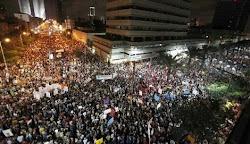 Protesto em Israel