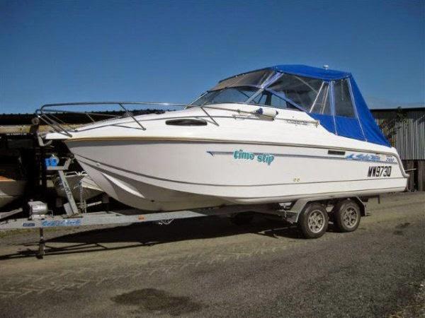 23' Eagle Ray Cabin Cruiser - Price: AU $67,500