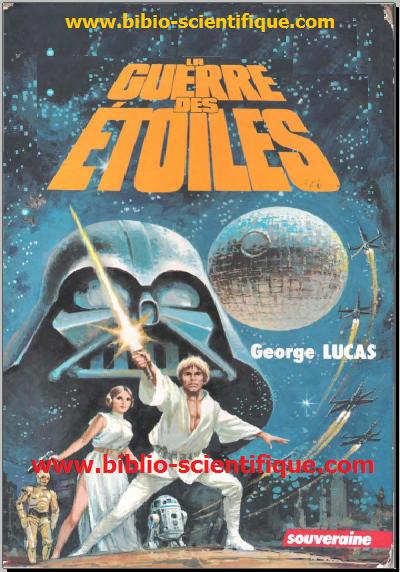 Star Wars (à l'origine nommée en France et au Québec sous son titre français, La Guerre des étoiles) est une épopéecinématographique de science-fiction créée par George Lucas en 1977. D'abord conçue comme une trilogie sortie entre 1977 et1983, la saga s'est ensuite élargie de trois films sortis entre 1999 et 2005 racontant des événements antérieurs aux premiers