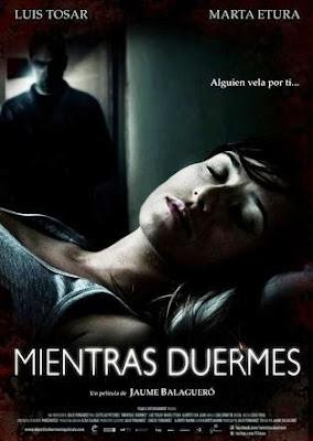 Mientras duermes (2011). pelicula movie poster aventura