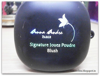 Anna Andre Paris Signature Joues Poudre Blush in Shade 03