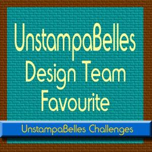UnstampaBelles July 2018 Challenge
