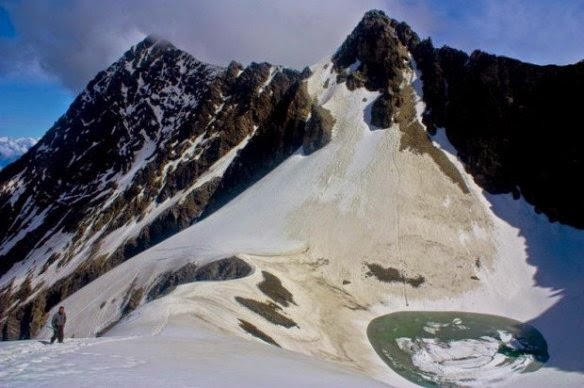 skeleton lake at himalaya