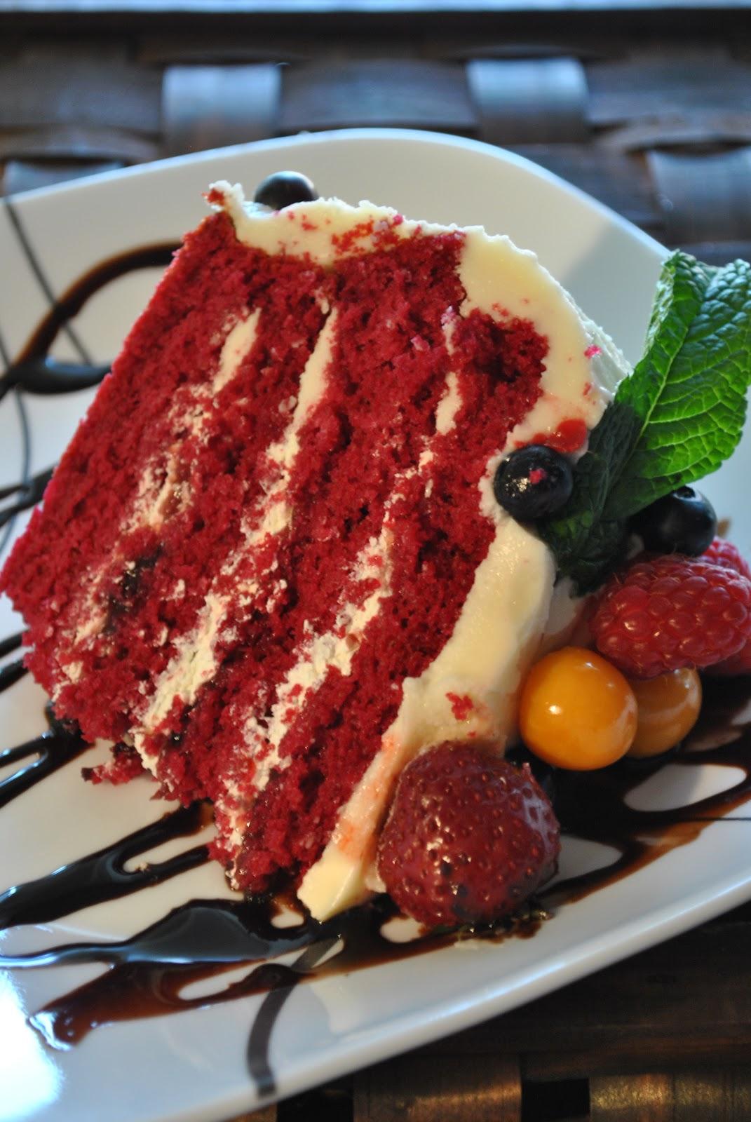 Gâteau Red Velvet de Ricardo