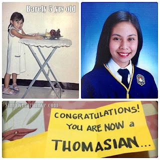 CONGRATULATIONS! You're now a Thomasian