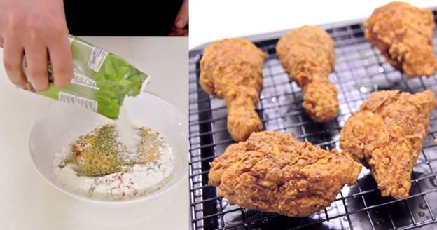 Make Perfectly Crunchy Fried Chicken