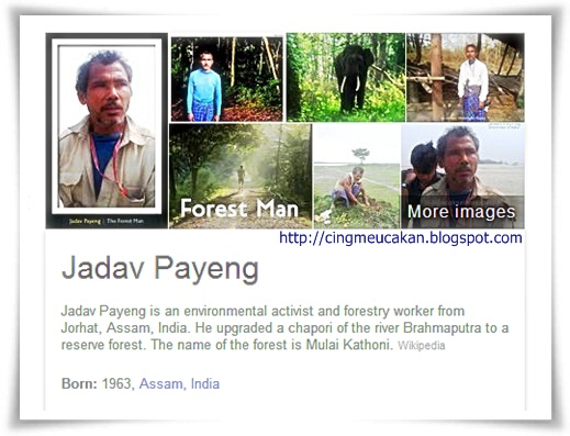 Man Forest of India: Jadav Payeng