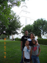 Our Family at the St George Temple