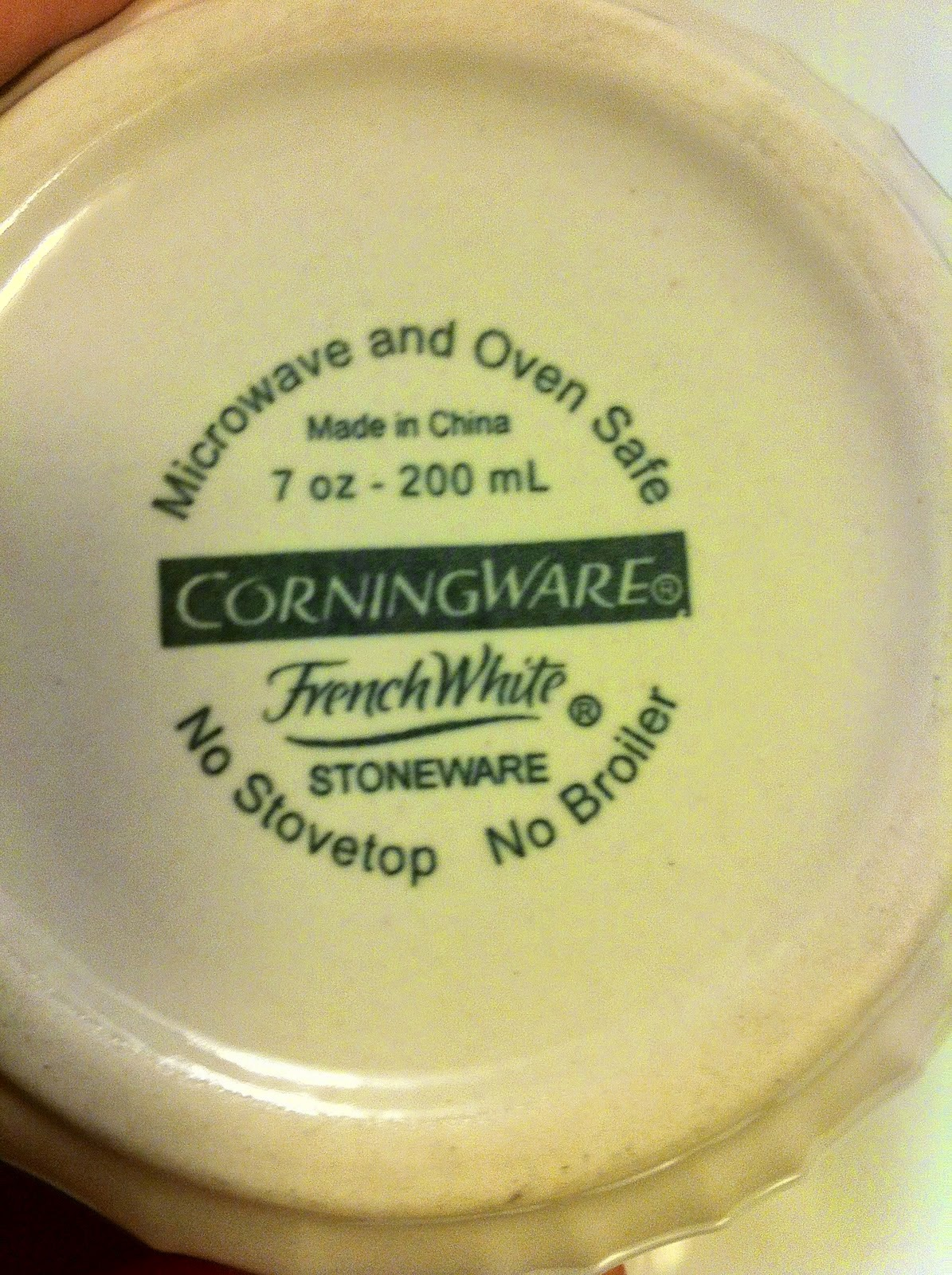 No Broiler Corning Ware by @javelinwarrior