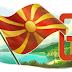Google mit makedonische Farben zum Unabhängigkeitstag!